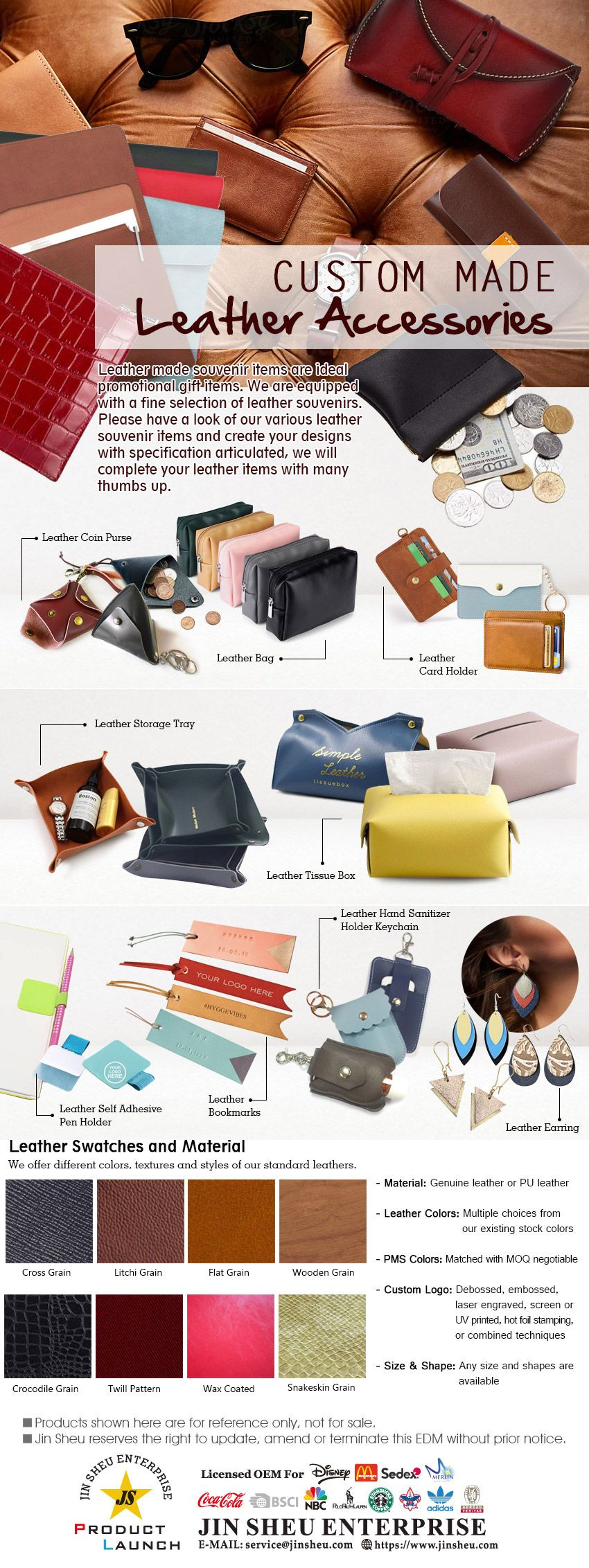 Customize Leather Products