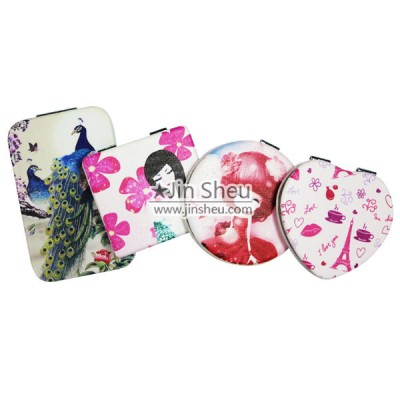 Makeup Mirror with Custom PU Leather Cover - Makeup Mirror with Custom PU Leather Cover