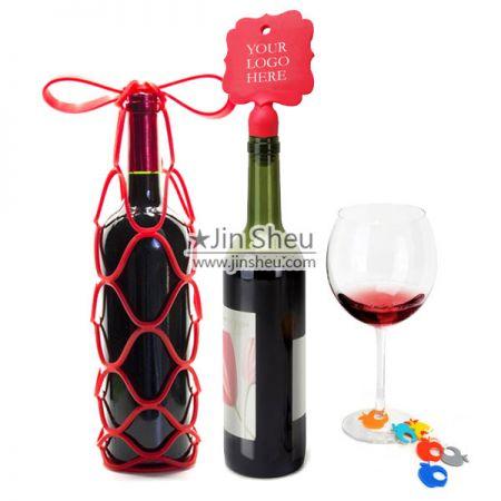 Wine Accessories - Silicone wine accessories with custom logo