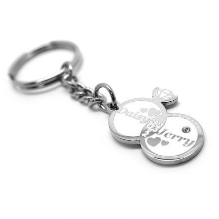 Custom Wedding Keychains - custom wedding keychrings