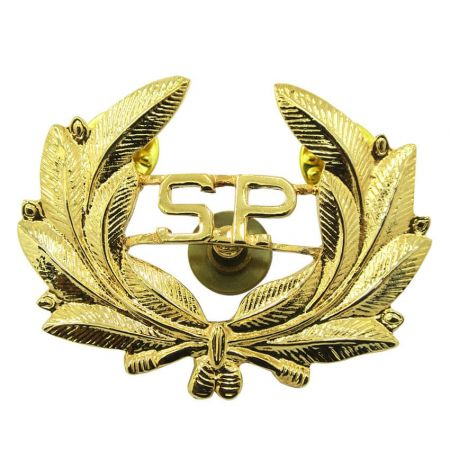 Central American Police Hat Badge - Custom Military Cap Badge Maker