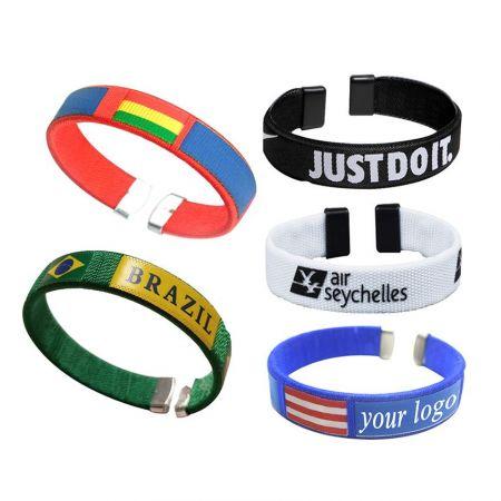 Polyester Bracelets - Promotional Polyester Bracelets