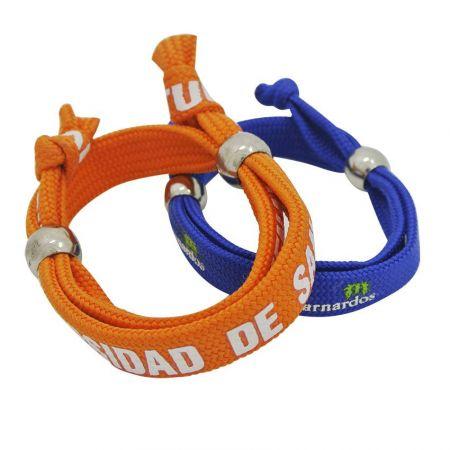 Tubular Polyester Wristbands - Tubular Polyester Wristbands