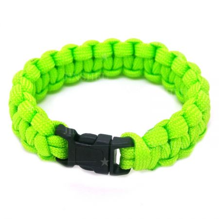 One Color Paracord Survival Bracelet - Mens Paracord Bracelet
