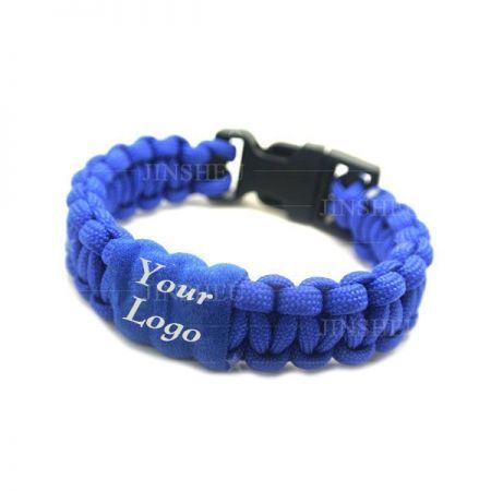 Custom Logo Paracord Bracelets - Personalized Paracord Bracelet