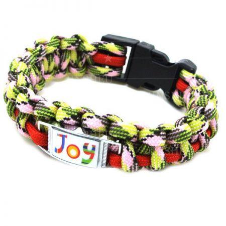 Survival Bracelet with Charms - Custom Survival Bracelet