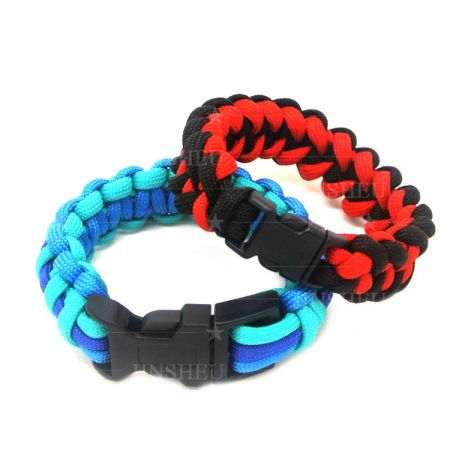 Two Colors Paracord Weaves - Paracord Cobra Weave