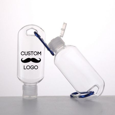 Empty Hand Sanitizer Bottles Wholesale - Hand Sanitizer Containers with Carabiner