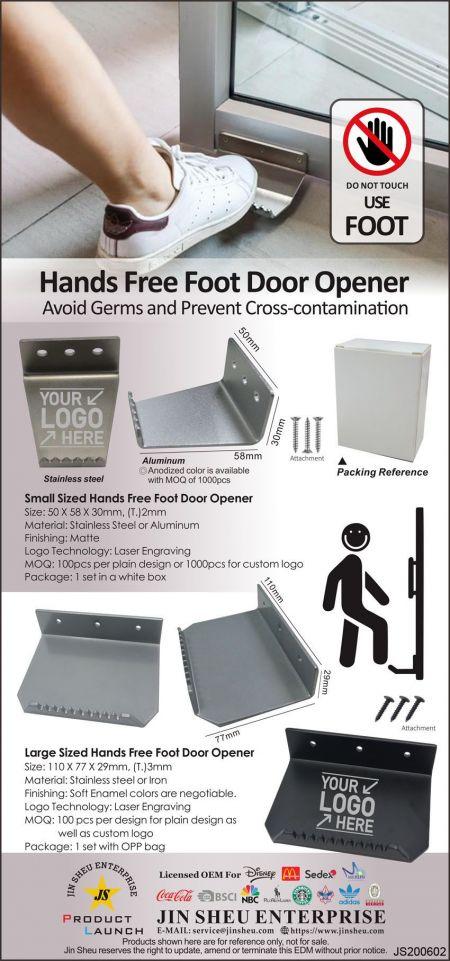 Hands Free Foot Door Opener - Open Door with Foot