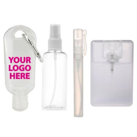 Plastic Spray Bottles & Hand Sanitizer Containers - Small Plastic Spray Bottles on Sale