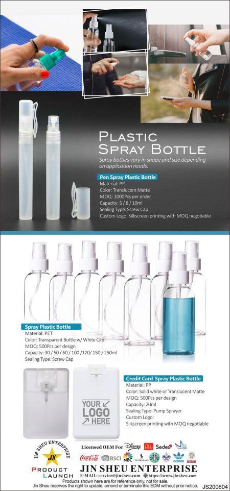Plastic Spray Bottle - Plastic Spray Bottles Cheap
