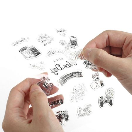 clear silicone stamps