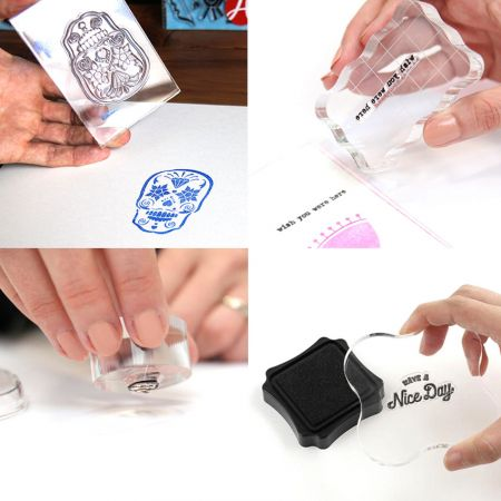 stamp silicone