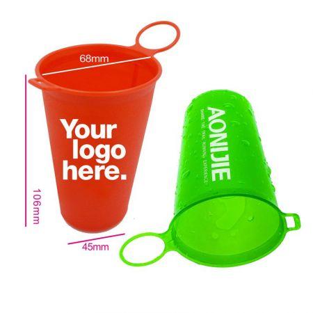 Folding TPU Water Cup - Print Logo On Cups