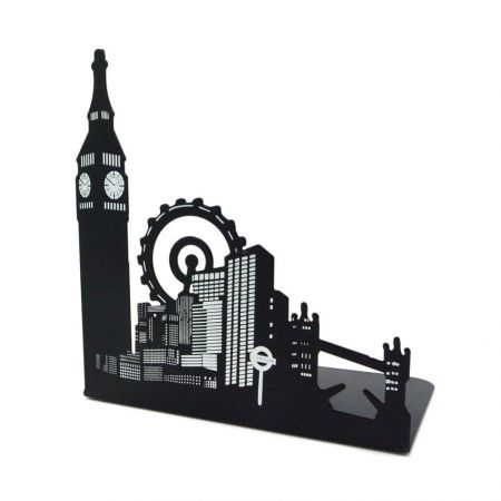 Personalized Metal Book End - Heavy Duty Metal Bookends