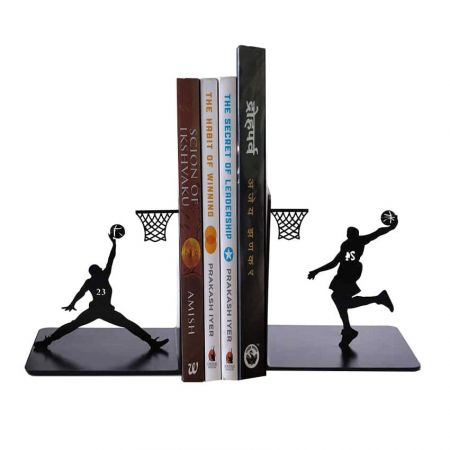 custom metal bookends