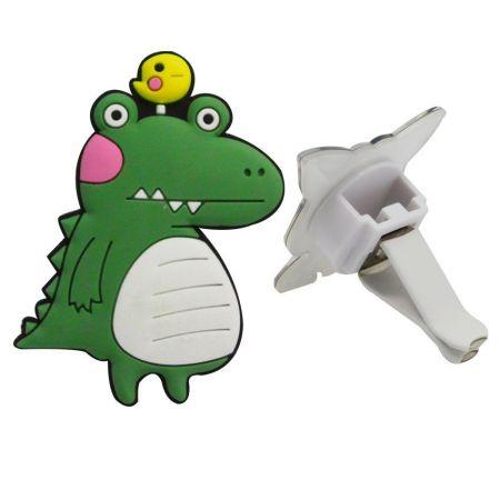 Custom PVC Car Vent Air Freshener - Soft PVC Car Vent Clips