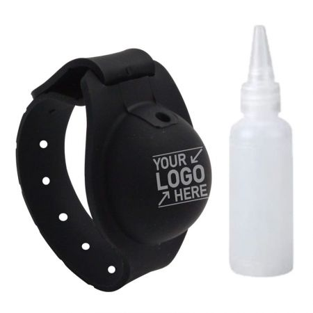 Personalized Hand Sanitizer Bracelet - Silicone Sanitizer Bracelets Maker