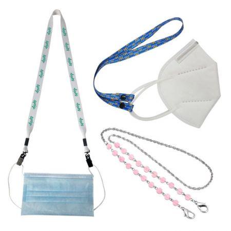 Custom Mask Holder Lanyard Chain around Neck - Face Mask Necklace