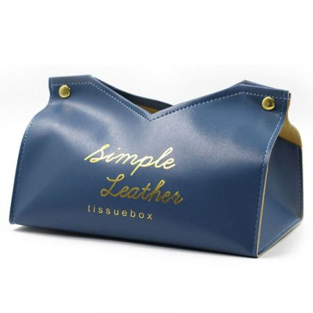 leather tissue box Wholesale