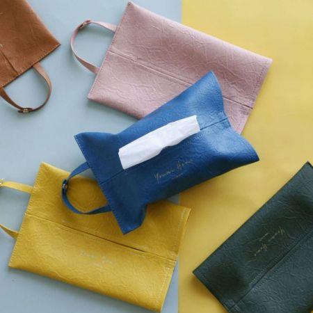 leather tissue holder manufacturer