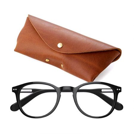 Leather Glasses Case - Leather Sunglasses Case Wholesale