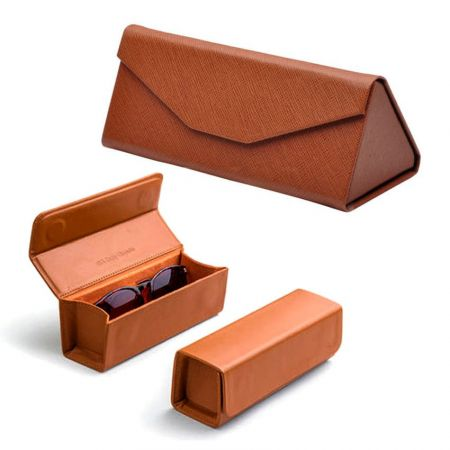 Custom Leather Glasses Case Is Designed To Carry Your Glasses