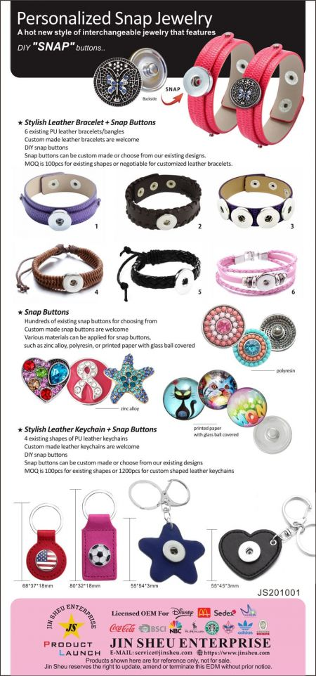 Personalized Snap Jewelry - Wholesale snap jewelry