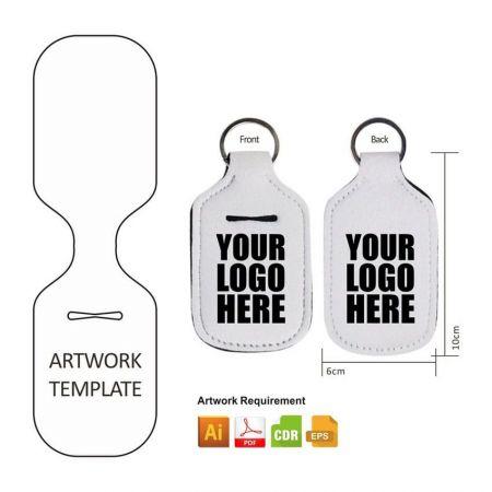 custom hand sanitizer holder