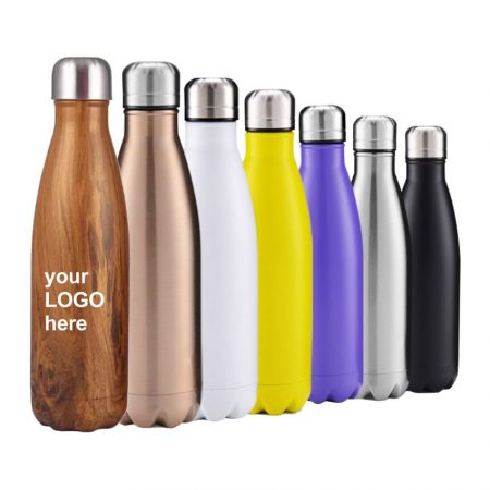 Cola Shaped Insulated Water Bottle