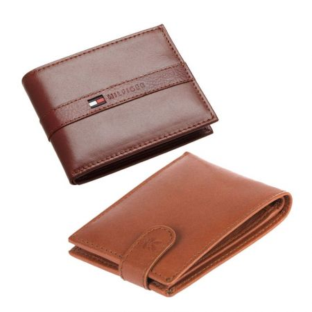 Custom Leather Wallet - Personalized Wallets for Men