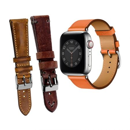 Leather Straps and Bands for Wrist Watches - Leather Wrist Watch Band