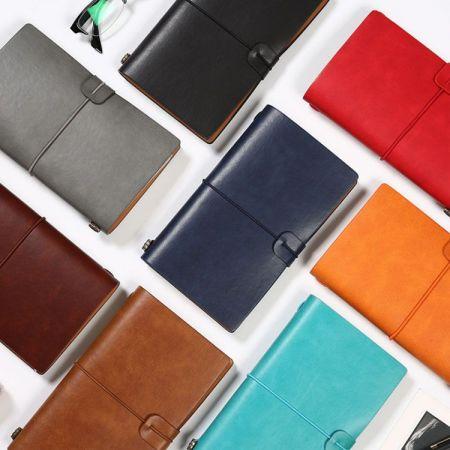 custom leather notebook