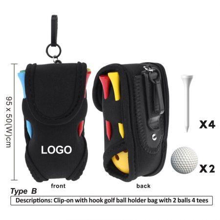 mini golf bag for balls