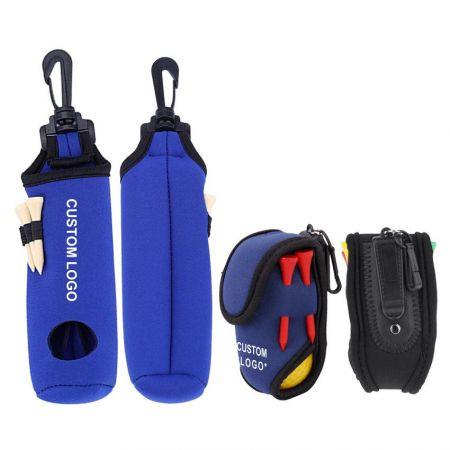 Custom Neoprene Golf Ball Bag Golf Accessories - quality golf ball bag holder