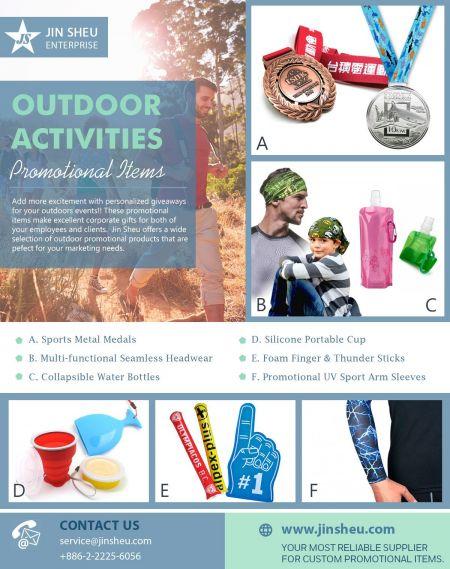 Outdoor Activities Promotional Items - Promotional Items for Outdoor Activities