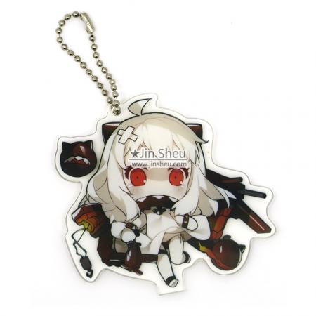 UV Printing Acrylic Keychains - Japan anime acrylic key tags