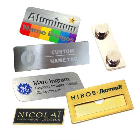 Aluminum Name Badges - Aluminum Name Badges