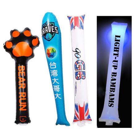 Custom Thunder Sticks - Custom Inflatable Cheer Sticks