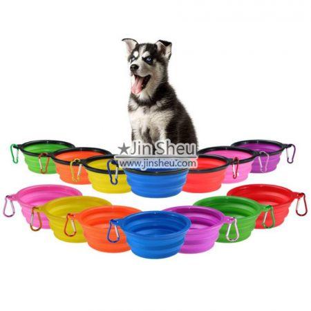 Pet Compact Silicone Travel Bowls - Pet Collapsible Silicone Travel Bowls