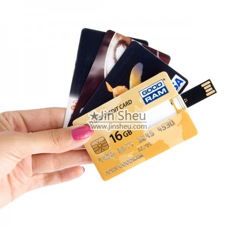 USB Flashdrive Credit Card - Promotional USB Card is a credit card shaped USB drive.