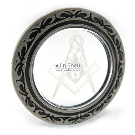 freemason crystal coins