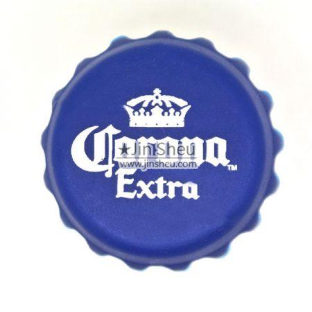 Silikonipullon korkki - Silkkipainatus silikoni-olutpullon korkki