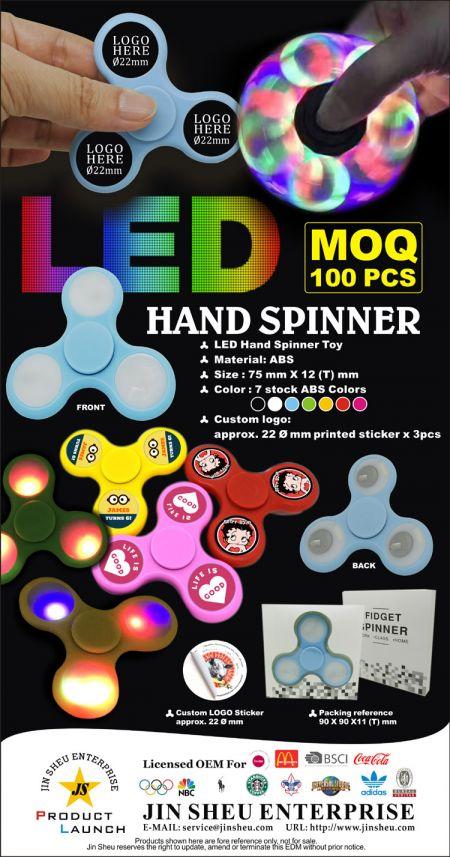LED Hand Spinner - LED Hand Spinner