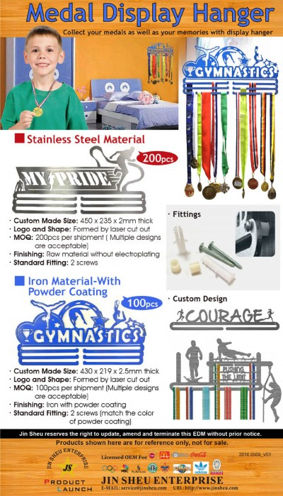 Medal Display Hangers - Collect your medals as well as your memories with display hanger