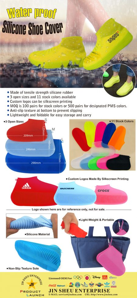 Reusable Waterproof Silicone Shoe Covers - Reusable Waterproof Silicone Shoe Covers