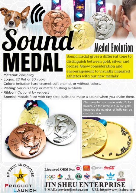 Sound Medal - Metal Award Sound Medal