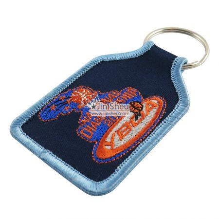 Custom Made Embroidery Keyrings - Custom Made Embroidery Keyrings