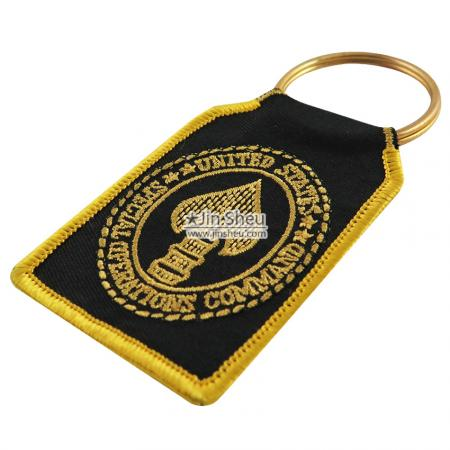 Embroidery Keyrings - Religion Embroidered Keyrings
