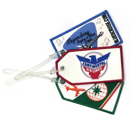 Embroidery Luggage Tags - Embroidery Luggage Tags